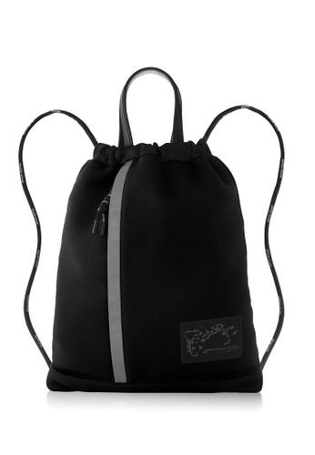 Braun Buffel black Kirk Drawstring Backpack C2708ACEE27461GS_1