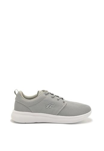 Ador 灰色 and 白色 JS833 - Ador 跑步鞋 D2D1ESHFA4F4AEGS_1