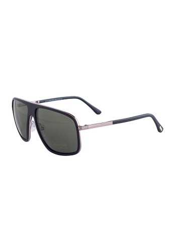 d99c864ded736 Buy Tom Ford TOM FORD Quentin Square Black Polarized Sunglasses TF463  Online