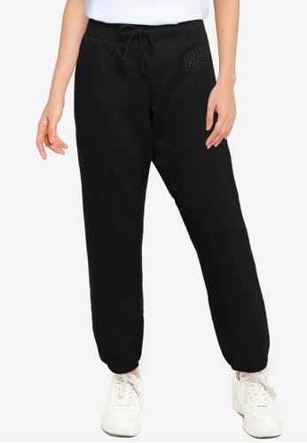 GAP black Gap Logo Sweatpants 84FB3AA372A64CGS_1