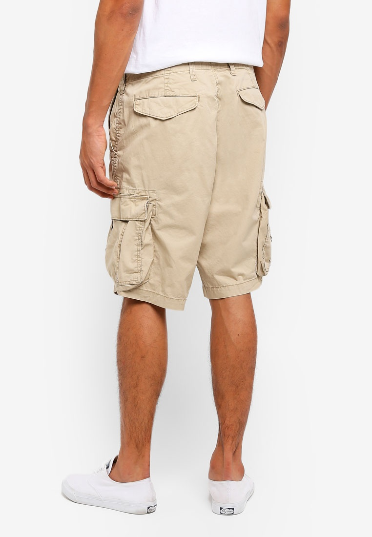 Cargo Khaki Shorts Iconic 12