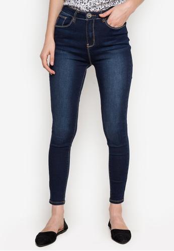Hot Kiss navy Ladies Pants Jeans HO592AA0JW2ZPH_1