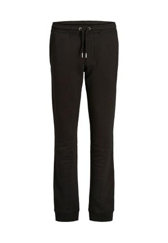 Jack & Jones black Gordon Soft Sweatpants 6F3F1KA0F21F39GS_1