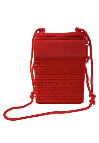 Disney Mickey red Disney Mickey Red Sling Bag D9648KCDB72D25GS_1