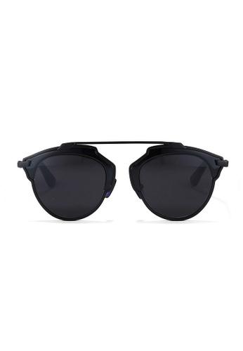Kyfer's Eyewear & Essentials black SIlverstone Pilot Sunglasses KY376AC74JPDSG_1