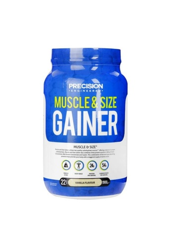 Holland & Barrett Precision Engineered Muscle & Size Gainer Vanilla 1.9kg 93164ESAE45886GS_1