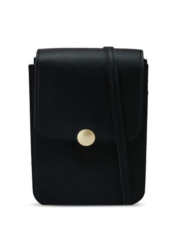 Keddo black Riva Sling Bag A7981ACD6EE5D2GS_1