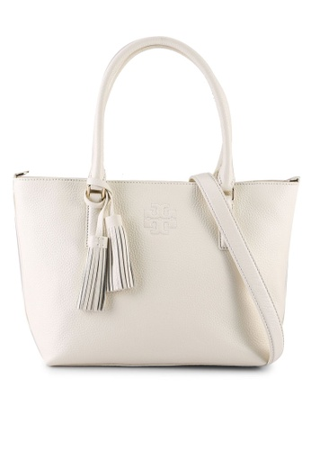TORY BURCH beige Thea Small Convertible Tote Bag (NT) 39F70AC429FD03GS_1