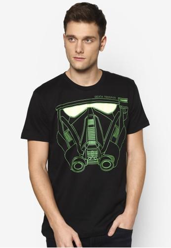 星際大戰圖文設計TEE, 服飾, esprit 中文印圖T恤