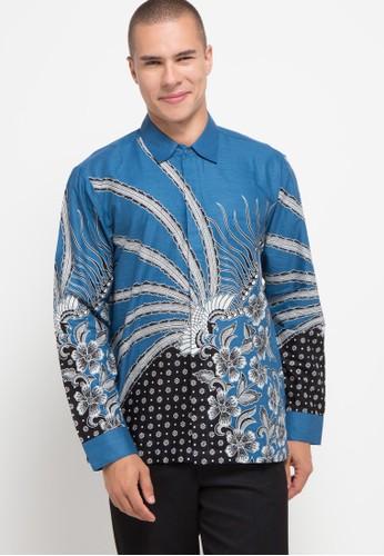 bhatara batik white and blue Abraham 1BE0DAA5B307FDGS_1
