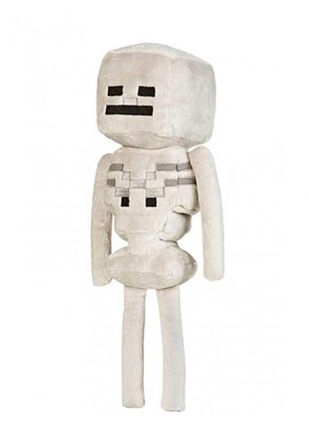 """Jinx beige Minecraft 12"""" Skeleton Plush C5564ES6B84B79GS_1"""