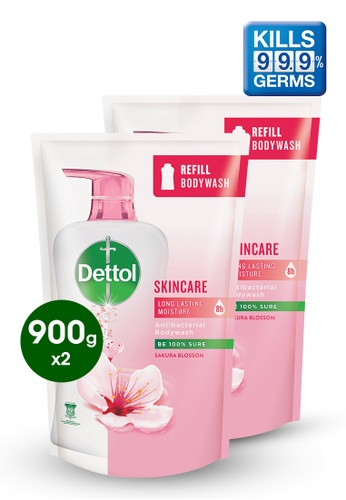 Dettol Dettol Body Wash Skin Care Refill 900g - Bundle of 2 75FBAES4A5C725GS_1
