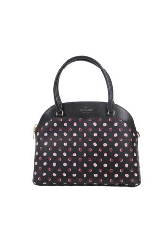 Kate Spade black Kate Spade Medium Payton WKR00200 Dome Satchel Bag In Fiesta Dot Multi 16C33ACE4120E6GS_1