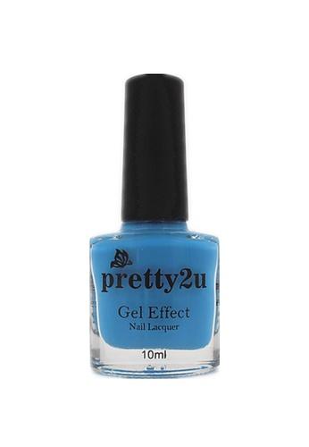 Pretty2u blue Gel Effect Nail Lacquer 8 PR716BE16WQLMY_1
