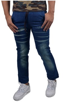 Men's Washed Jeans