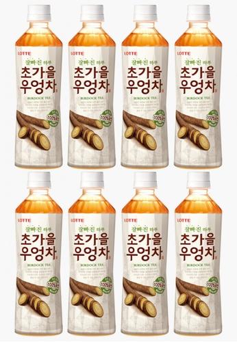 Lotte Chilsung Beverage Lotte Korean Burdock Tea - Multipack (8 x 500ml) D63CDES353EBEAGS_1