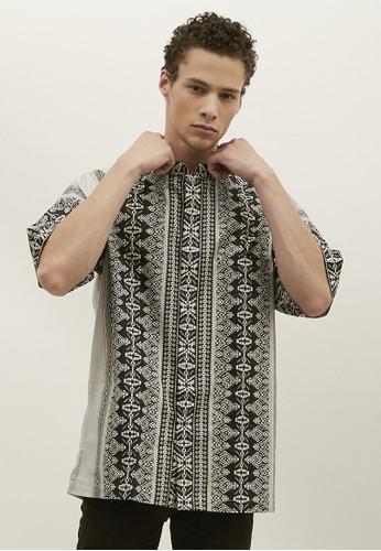 Woffi black Almaty Koko Shirt 4CF37AA3373FE7GS_1