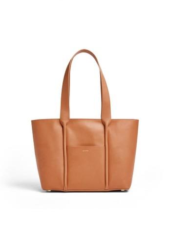 SKAGEN brown Skagen Lisabet - Leather - Tote - Tas Skagen Wanita - SWH0210231 80495ACDF99F4DGS_1