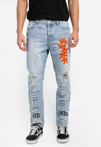 Stoned & Co blue Descendant of Equity Jeans C0F15AA1E82453GS_1