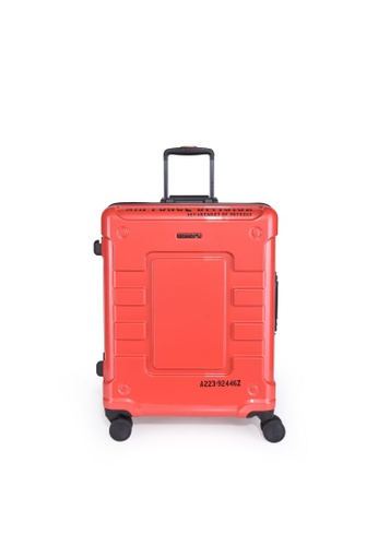 """Lushberry red Airwolf 4 Hardcase Cabin Size Luggage-19"""" F7510AC880A31CGS_1"""