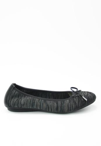 Twenty Eight Shoes black Knit Flats JD20 187EFSH524C1F3GS_1