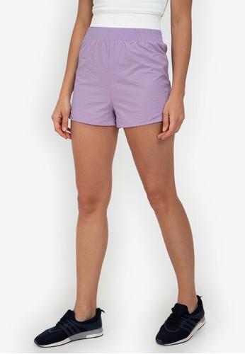 ZALORA ACTIVE purple Running Shorts C452BAA34C9E4DGS_1