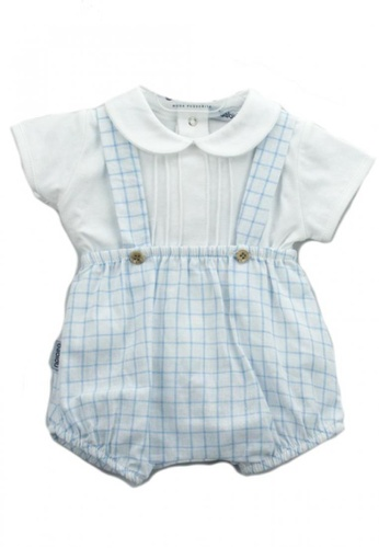 RAISING LITTLE white and blue Neftali Outfit Set 7233BKAC644184GS_1