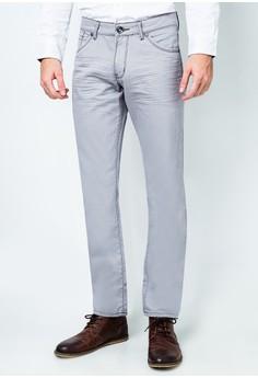Twill Slim Fit Pants