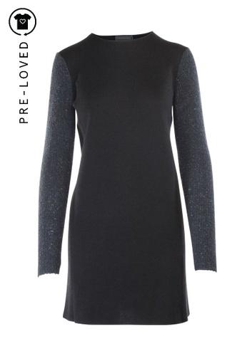 Anteprima black Pre-Loved anteprima Black Wool Dress E3A43AAADA7BA4GS_1