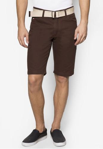腰帶休閒短褲, 服esprit outlet 家樂福飾, 服飾