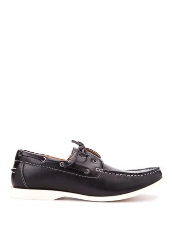 H2Ocean black Tony Boat Shoes H2527SH93CNEPH_1