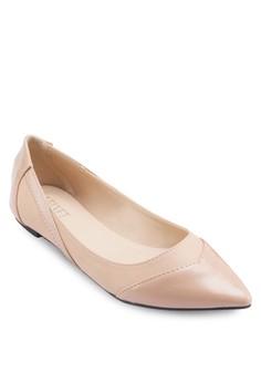 Yasmin Point Toe Flats