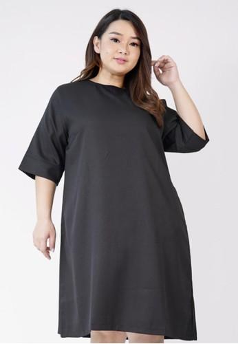 Xtramiles black xtramiles jolly  dress hitam 30625AAB7157DAGS_1