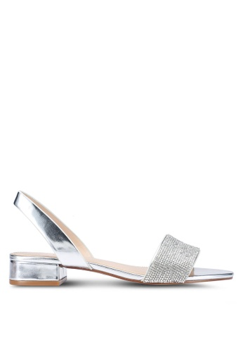 ALDO 銀色 Candice 高跟鞋 0F09CSHD49EEA1GS_1