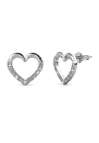 Her Jewellery silver Her Jewellery Lovett Earrings with 18K Gold Plated C7559ACCC0C7DAGS_1