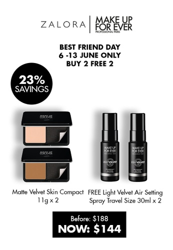 MAKE UP FOR EVER brown MATTE VELVET SKIN COMPACT - Full Coverage Foundation  10G Y505 B4DFABE30334F0GS_1