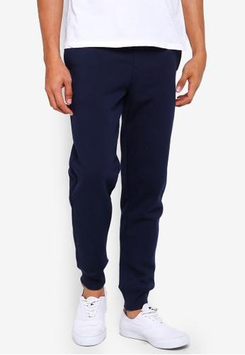GAP navy Modern Logo Fleece Pants 30305AA42E82FFGS_1