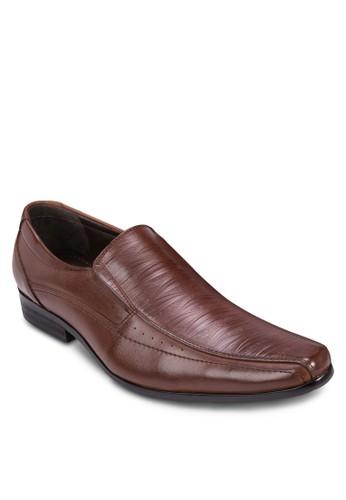 esprit home 台灣划痕尖頭紳士皮鞋, 鞋, 鞋