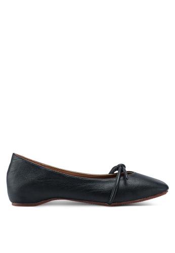 Mimosa 黑色 休閒方頭平底鞋 0C1F6SH3B95C46GS_1