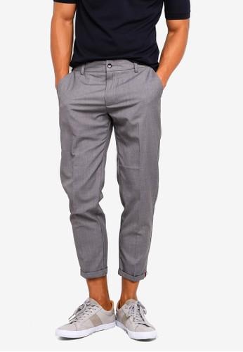 SPARROW GREEN grey Wyatt II Tapered Pants 4FC31AA1A26011GS_1