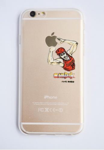 Fancy Cellphone Cases multi Slam Dunk Transparent Soft Case for iPhone 6 FA644AC78DBTPH_1