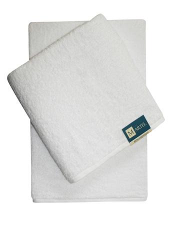 Martel white Martel Basic Bath Towel FAE31HLB81ED81GS_1
