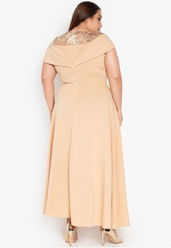 3510a298f02 Camyla Maxi Plus Dress