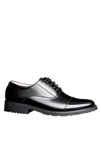 Twenty Eight Shoes 黑色 真皮三接頭商務鞋  VMF291 E8FD6SH96BBADCGS_1