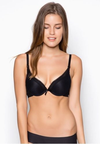 b4092c3667de4 Buy Impression Low Plunge Push Up Bra Online on ZALORA Singapore