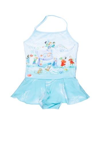 Viva Vida Kids blue Halter Songkran 6628EKAAF75E78GS_1