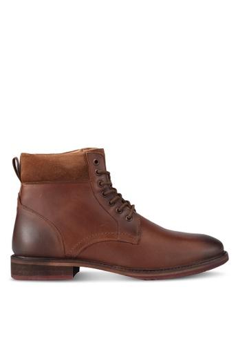 KG Kurt Geiger brown Hogan Boots KG303SH0SR9QMY_1