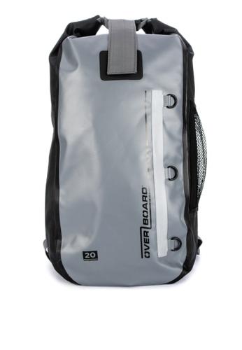 Overboard grey Classic 20 Liter Waterproof Backpack 32212ACFDAF40DGS_1