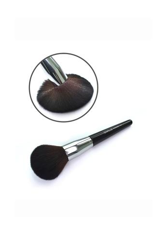 SIXPLUS black and brown and gold SIXPLUS 1Pcs Professional Powder Brush A85DEBEDAA36EDGS_1