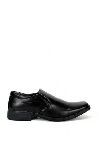 Cardam's Lifestyle black Ben Formal Shoes D7F5CSH786ACABGS_1